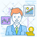 Accountant Auditor Banker Icon