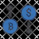 Bitcoin Trading Bitcoin Trading Icon