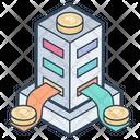 Bitcoin Transaction Bitcoin Exchange Bitcoin Cryptocurrency Icon
