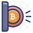 Bitcoin Transaction Icon