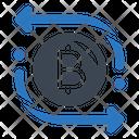 Bitcoin Transaction Bitcoin Cryptocurrency Icon