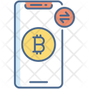 Bitcoin Transaction Icon