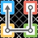 Transaction Blockchain Technology Icon
