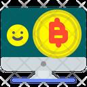 Bitcoin Transfer Bitcoin Transfer Icon