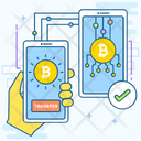 Bitcoin Transfer Icon