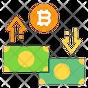 Cash Money Bitcoin Icon