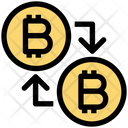 Bitcoin Transfer Bitcoin Buy Icon