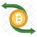 Bitcoin Transfer Money Transfer Transfer Icon