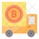 Cart Money Bitcoin Cryptocurrency Bitcoin Truck Truck Icon