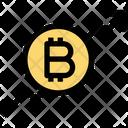 Bitcoin Up Bitcoin Graph Icon