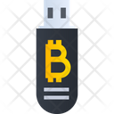 Bitcoin Usb Usb Bitcoin Icon