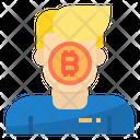 User Money Bitcoin Cryptocurrency Bitcoin User Bitcoin Icon