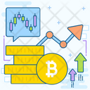 Bitcoin Value Icon