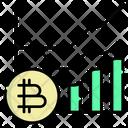 Bitcoin Value Icon