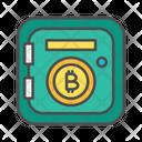 Bitcoin Vault Crypto Icon