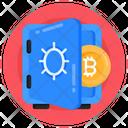 Safe Bitcoin Bitcoin Vault Bitcoin Locker Icon