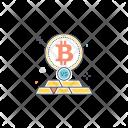 Bitcoin Gold Compare Icon