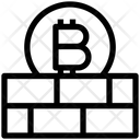 Protect Wall Blockchain Icon