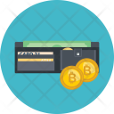 Bitcoin Wallet Cryptocurrency Icon