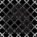 Bitcoin Wallet Wallet Crypto Icon