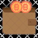 Wallet Money Bitcoin Cryptocurrency Bitcoin Wallet Crypto Icon