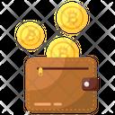 Bitcoin Earning Bitcoin Money Bitcoin Wallet Icon