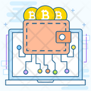 Bitcoin Earning Bitcoin Money Bitcoin Wallet Icon