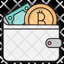 Wallet Bitcoin Cash Icon