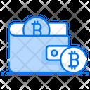 Bitcoin Wallet Online Wallet Online Money Icon