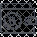 Bitcoin Money Wallet Icon