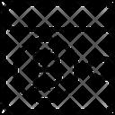 Money Blockchain Bitcoin Icon