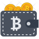 Bitcoin Wallet Money Icon
