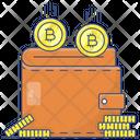 Bitcoin Wallet Bitcoin Earning Bitcoin Money Icon