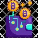 Bitcoin Wallet Digital Wallet Wallet Icon