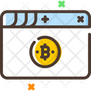 Web Bitcoin Web Bitcoin Icon