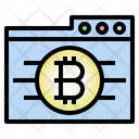 Bitcoin Web Cryptocurrency Folder Icon