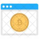 Bitcoin Web Icon