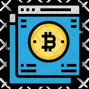 Web Site Bitcoin Icon