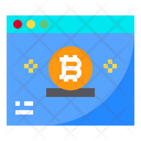 Website Bitcoin Internet Icon