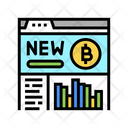 Cryptocurrency Website Platform Digital Platform Icon