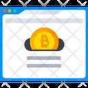Bitcoin Website Online Bitcoin Bitcoin Icon