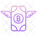 Bitcoin Wings Icon