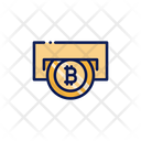 Bitcoin Withdraw Money Withdrawal Crypto Currency Icon