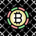 Bitcoin World Market Trading Bitcoin Logo Icon