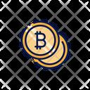 Bitcoins Icon