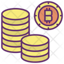 Money Bitcoins Bitcoins Coins Icon