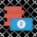 Bitcoins Money Cash Icon