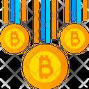 Bitcoins Cryptocurrency Bitcoin Icon