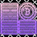 Bitcoins Coins Bitcoin Icon