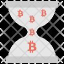 Bitcoins Pending Transaction Icon